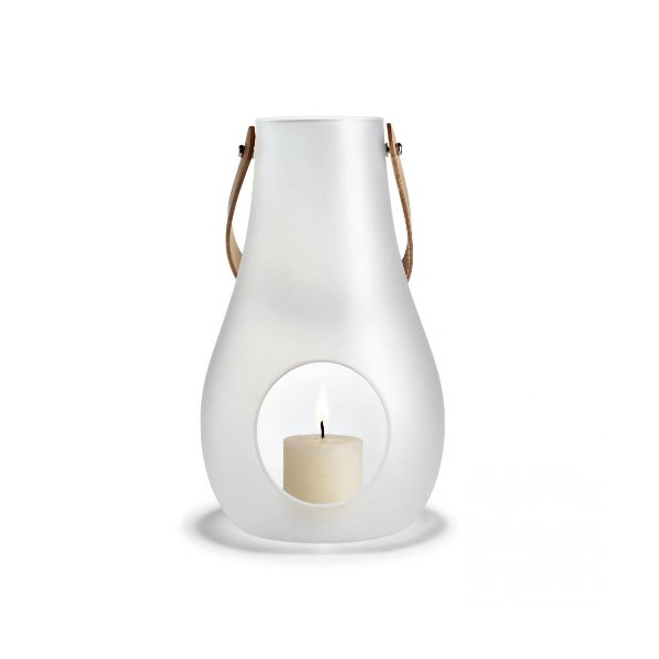 Design with Light Lantern Satinated White