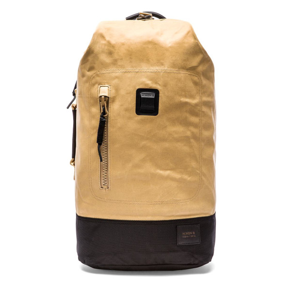Nixon Origami Backpack, Khaki/Black