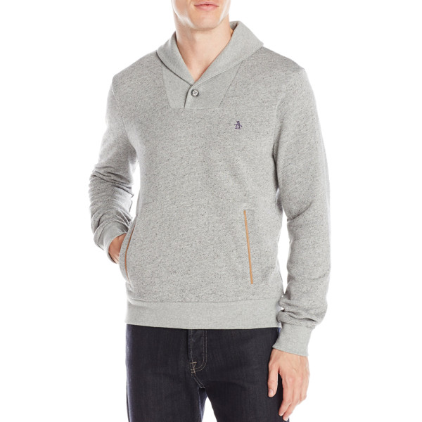 Original Penguin Men's Pullover Sweatshirt, Castlerock