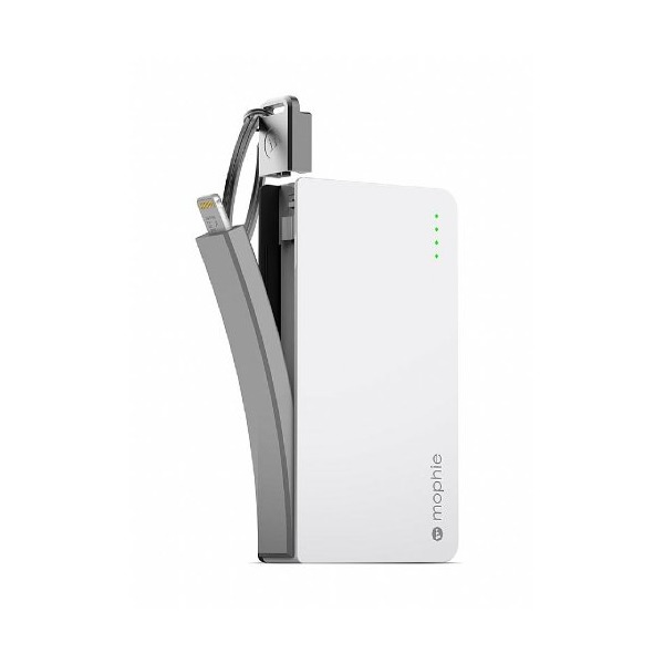 mophie Power Reserve Lightning External Battery Charger (1350mAh) for iPod & iPhone - White