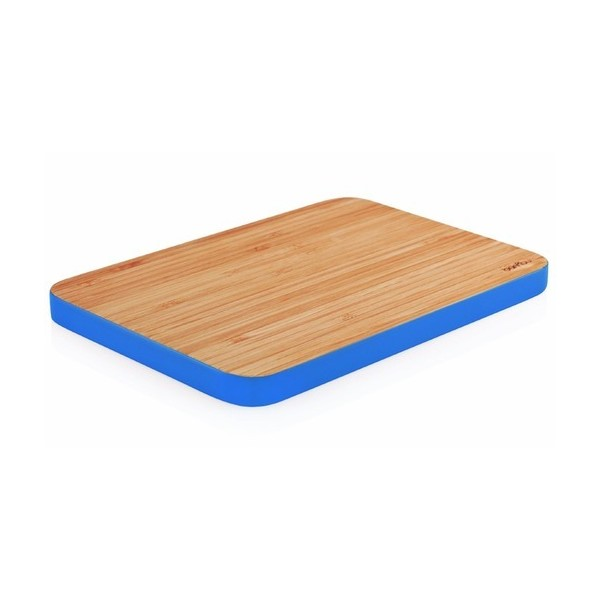 Bambu Small Cutting Edge Board, Cobalt