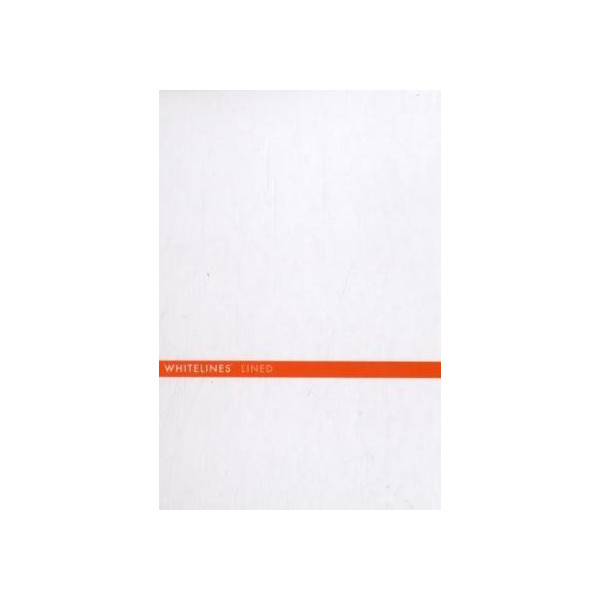 Whitelines Hard Wire A5 Lined Notebook: Supporting your ideas