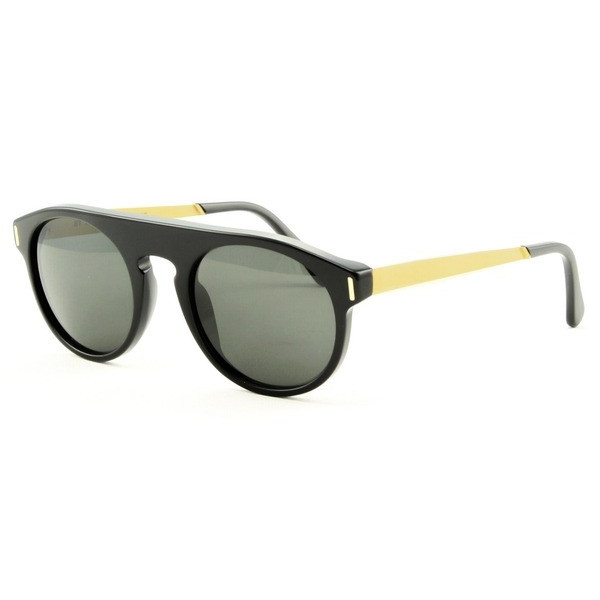 RetroSuperFuture Super 3XC Racer Sunglasses Black / Gold