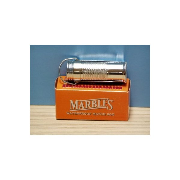Marbles waterproof match safe container holder