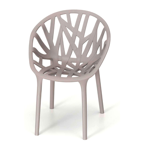 Vegetal Chair by Vitra, Mauve Grey