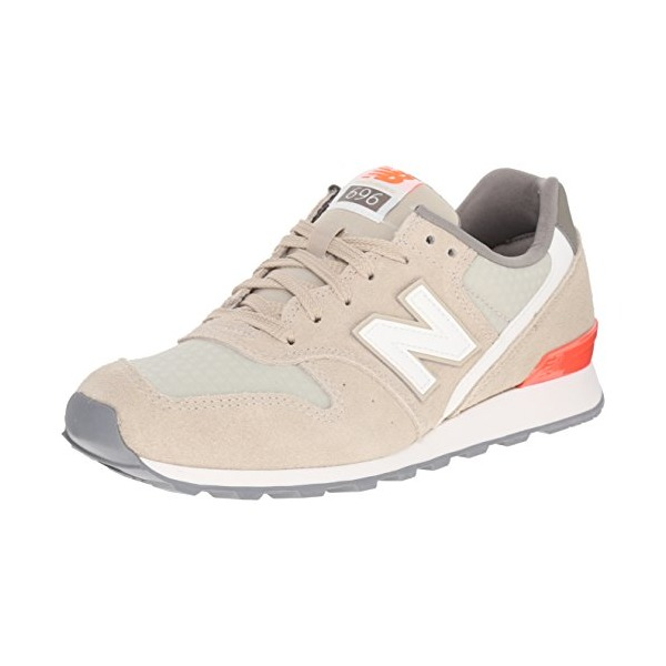 New Balance Women's WL696 Summer Utility Running Shoe, Beach Sand/Dragonfly, 5 B US
