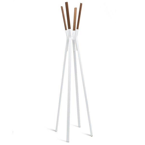 Blu Dot Splash Coat Rack, White