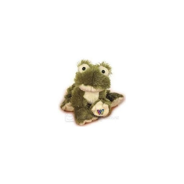 Lil Webkinz Plush Toys & Online Virtual Pet Animal Learn and Play (Frog)