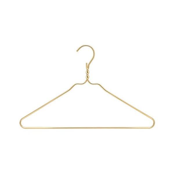 RDM Gold Coat Heavy Duty Hangers, Set of 10