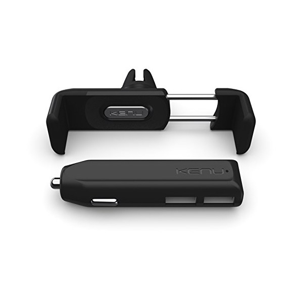 Kenu Airframe+ Car Kit | Portable Car Mount & Ultra-Fast Car Charger