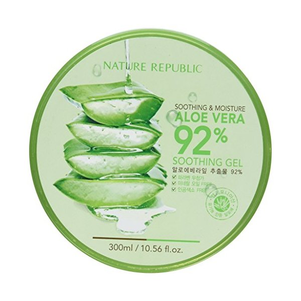 Nature Republic New Soothing & Moisture Aloe Vera 92% Gel, 300ml