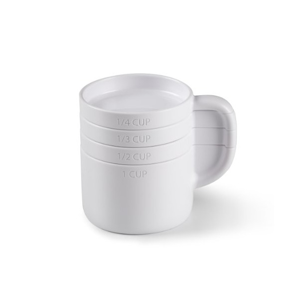 Cuppa Measuring Cup Set Color: White