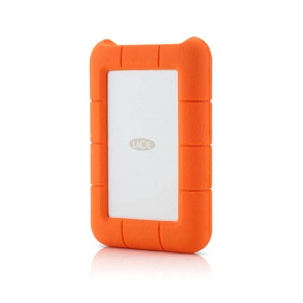 Lacie Rugged USB3 Thunderbolt 256GB SSD 380MBps Transfer Rate