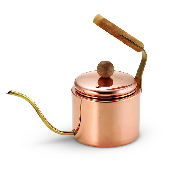 Asahi Japanese Drip Coffee Copper Kettle, 1.0L