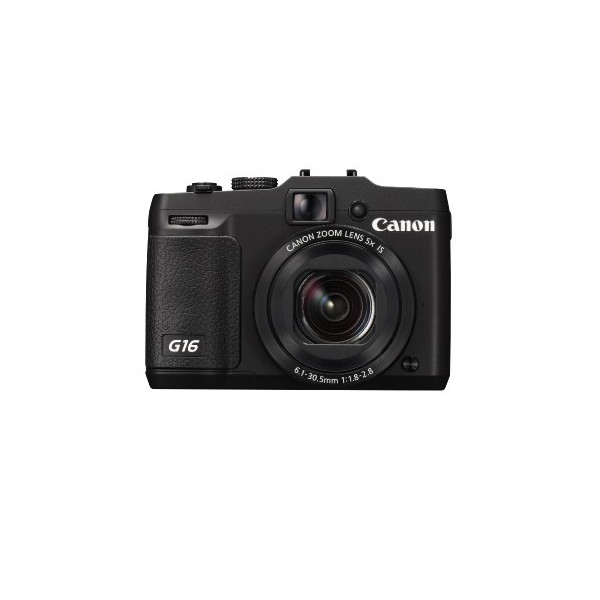Canon Powershot G16 ( 12.1 MP,5 x Optical Zoom,3 -inch LCD )