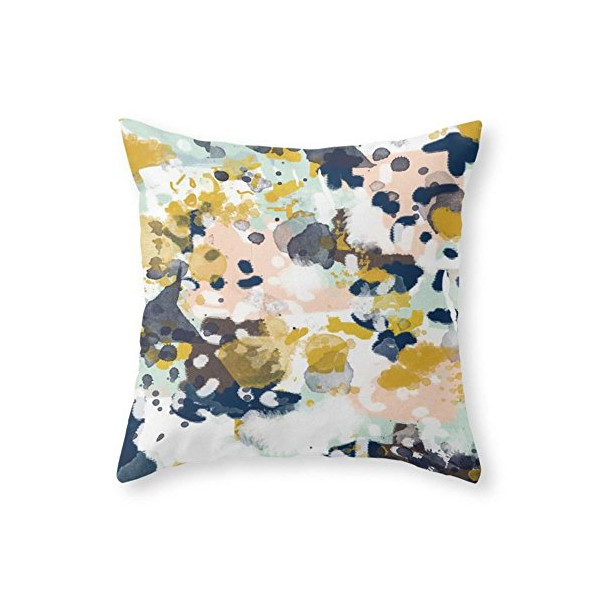 Society6 Sloane Abstract Painting Pillow