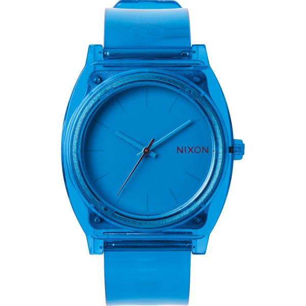 Nixon Time Teller P, Translucent Blue, Unisex
