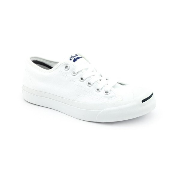 Converse Women's Jack Purcell Canvas Sneakers, White, 7 B(M) US