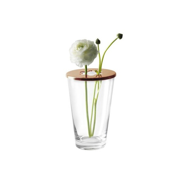 Focus Vase with Copper Lid By Design House Stockholm