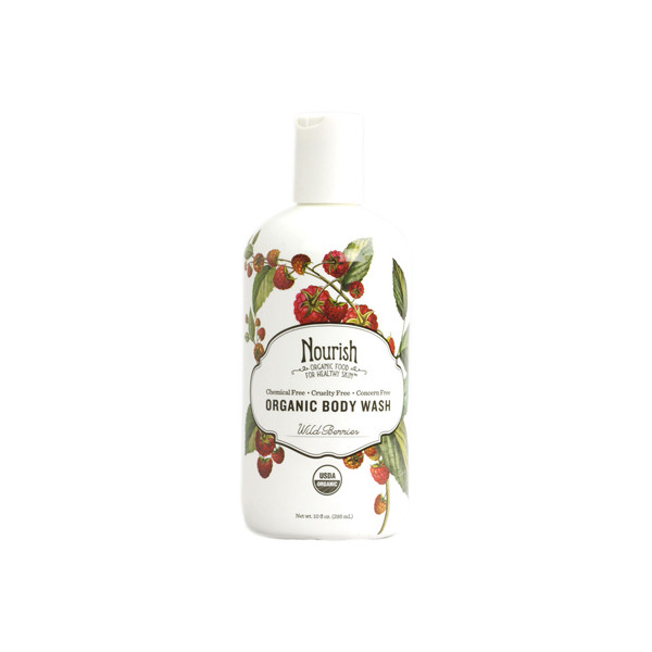 Nourish Organic, Body Wash, Wild Berries, 10oz