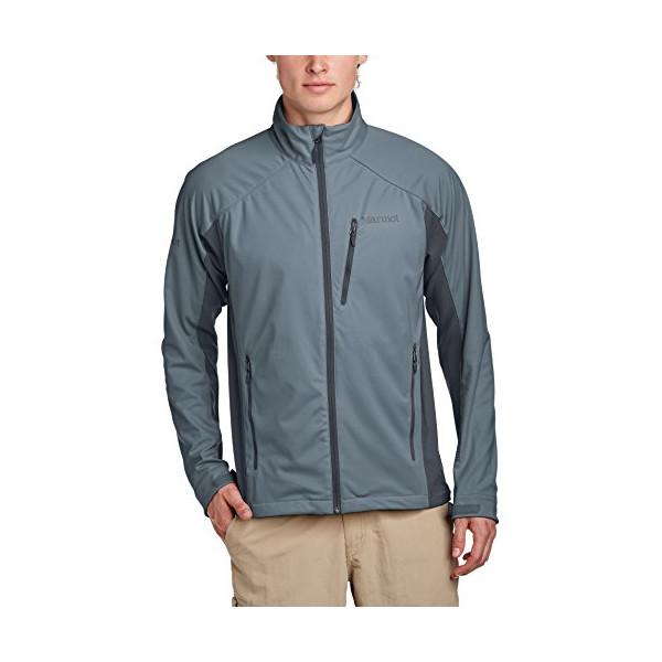 Marmot Men's Leadville Jacket (Medium, Cinder/Slate Grey)