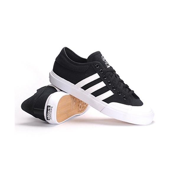 Adidas Matchcourt (Core Black/White/Core Black) Men's Skate Shoes-8