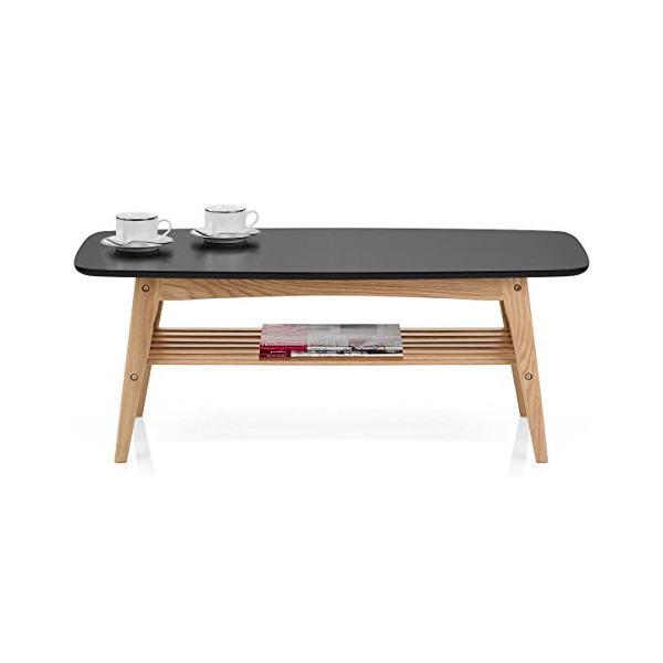 Woodstock Coffee Table Oak & Black