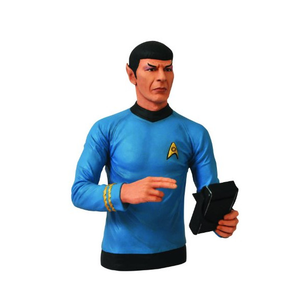 Diamond Select Toys Star Trek: Spock Bust Bank