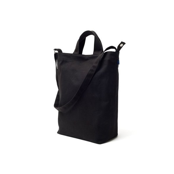 BAGGU Duck Bag Canvas Tote - Black