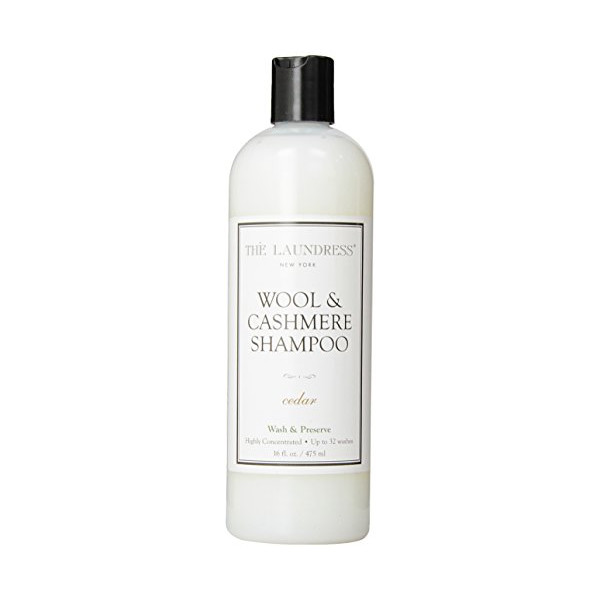 The Laundress  Wool & Cashmere   Shampoo, Cedar, 16 - Ounce Bottle