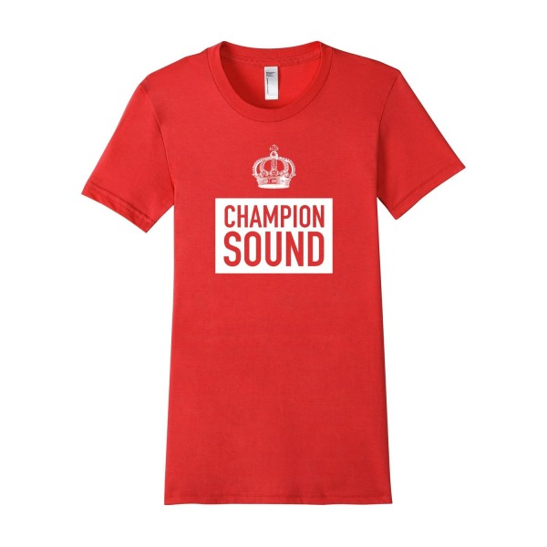 Champion Sound Tee - Female XL - Red