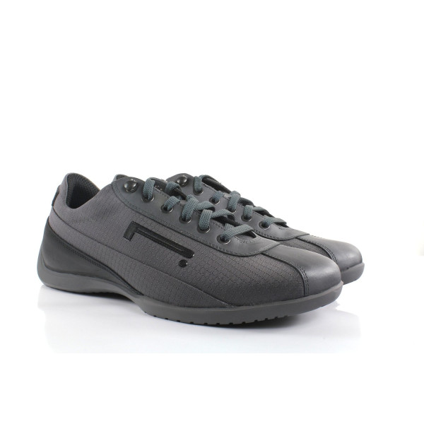 Pirelli Pzero Label REX-08 Sport Men's Shoes Calf Grey SUTSNK01TG63 (SIZE: 41)