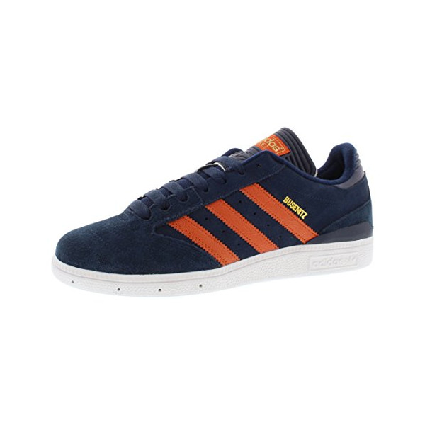 Adidas Busenitz Men's Skateboarding Shoes Size US 7, Regular Width, Color Navy/Orange