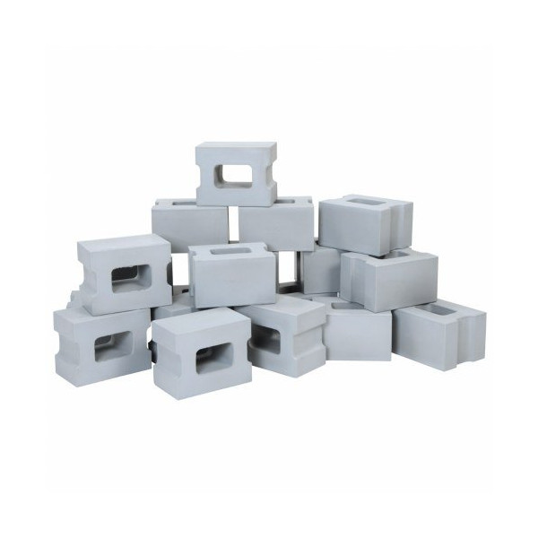 Foam Cinder Block Builders (Set of 20)