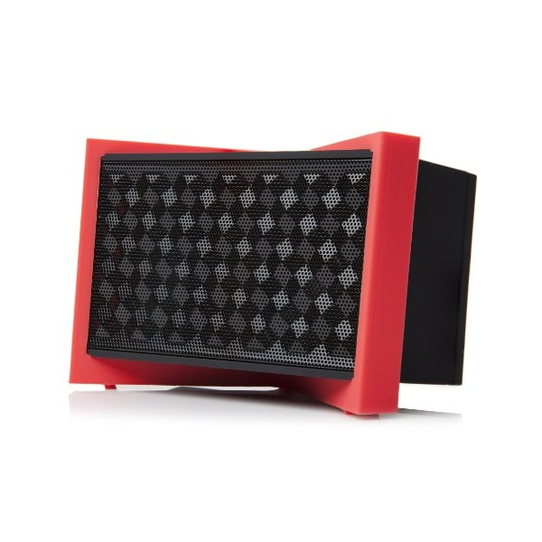 Tylt TUNZBK-T Rechargeable Bluetooth Speaker with NFC - Retail Packaging - Black/Red/Blue