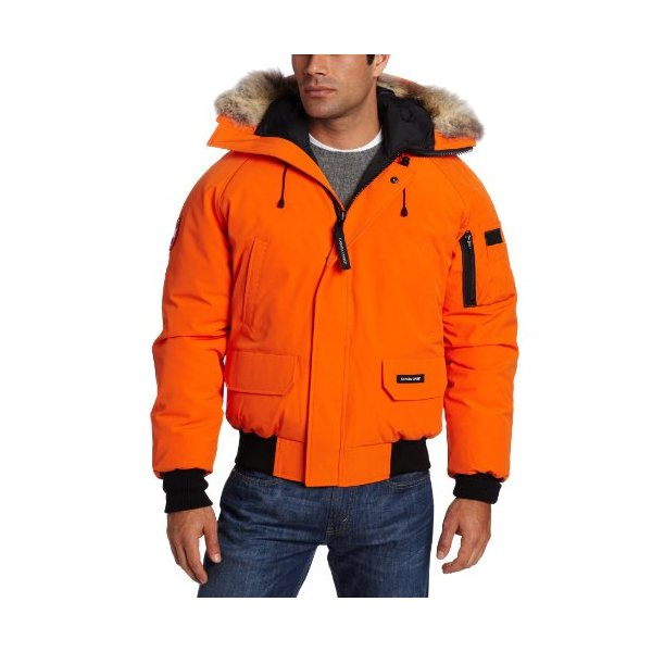 Canada Goose Men's Chilliwack Bomber (Sunset Orange, Large)