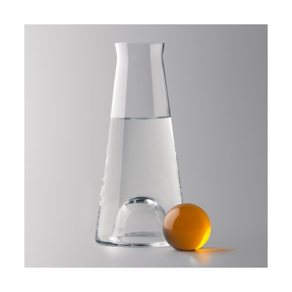 Fia Carafe / Vase by Nina Jobs Color: Clear / Amber