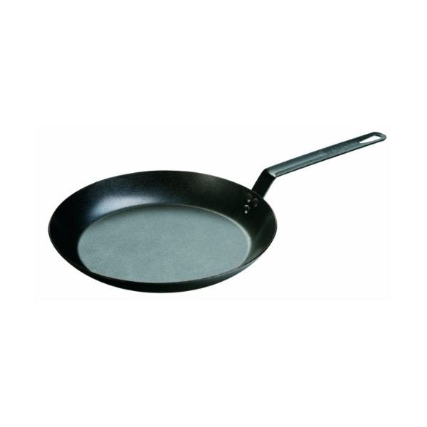 Lodge Seasoned Carbon Steel Skillet