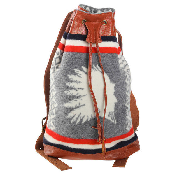 Pendleton Heroic Chief Leather Backpack
