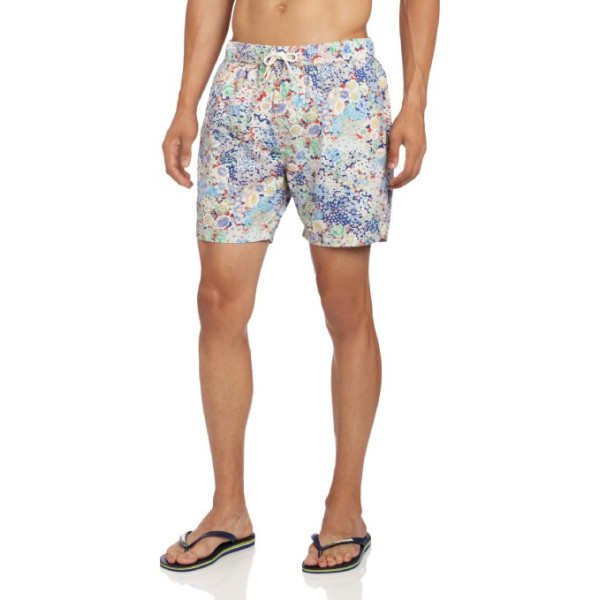 Scotch & Soda Men's Swimshort, Purple, XX-Large
