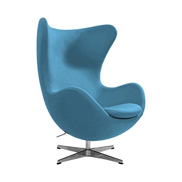 AEON Furniture Columbia Lounge Chair in Light Blue