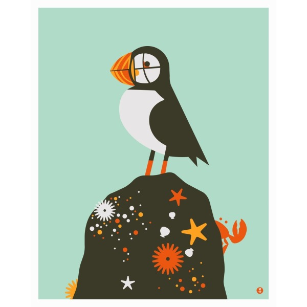 puffin limited large edition print