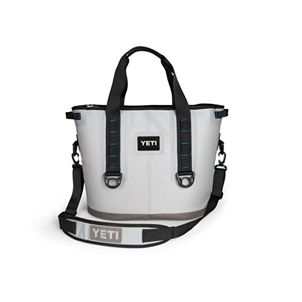 Yeti Hopper Cooler 30 Fog Gray/Tahoe Blue