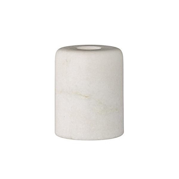 Bloomingville White Marble Taper Holder