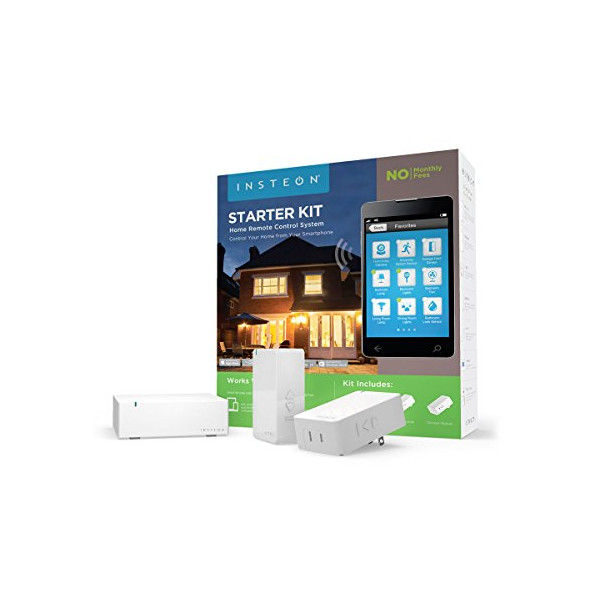 INSTEON Starter Kit 2244-234, Works with Alexa