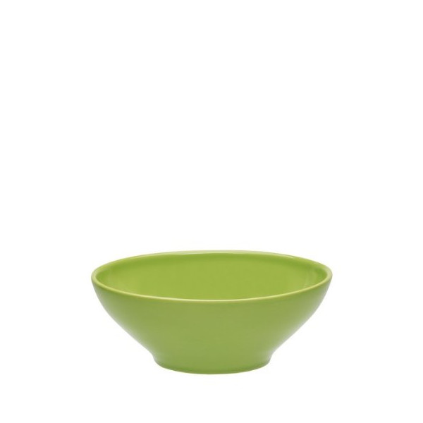 Emile Henry 7.5-Inch Japanese Salad Bowl, Green Apple