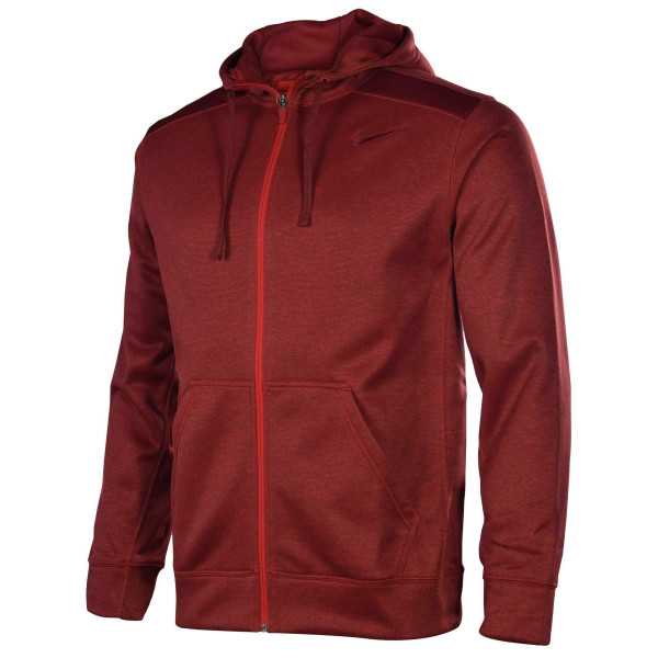 Nike Men's Shield Nailhead Full Zip Training Hoodie