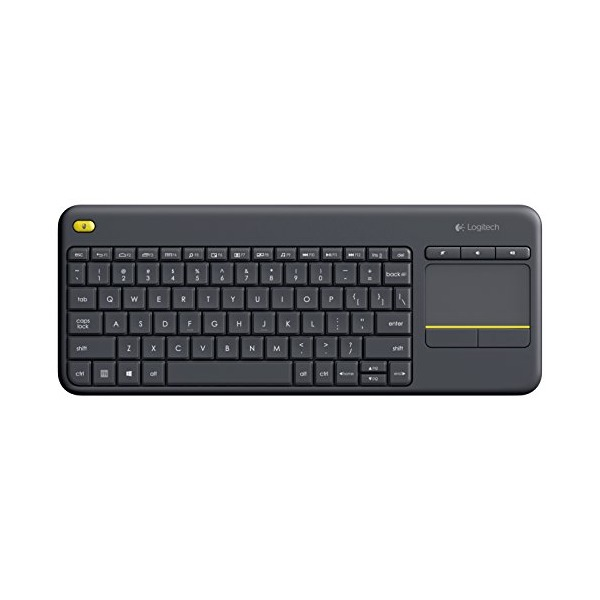 Logitech Wireless Touch Keyboard K400 Plus with Built-In Touchpad for Internet-Connected TVs