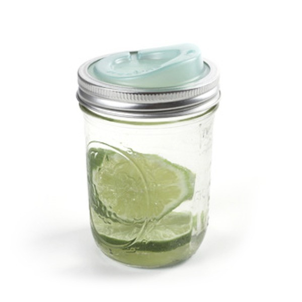 Original Cuppow Wide, Drinking Lid for Wide Mouth Mason Jar