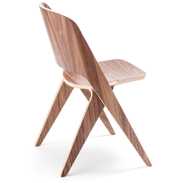 Lavitta Molded Plywood Chair, Walnut